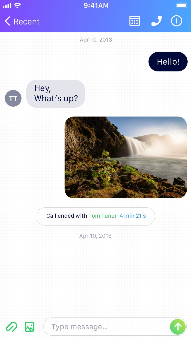 Voxeet Mobile Conversation