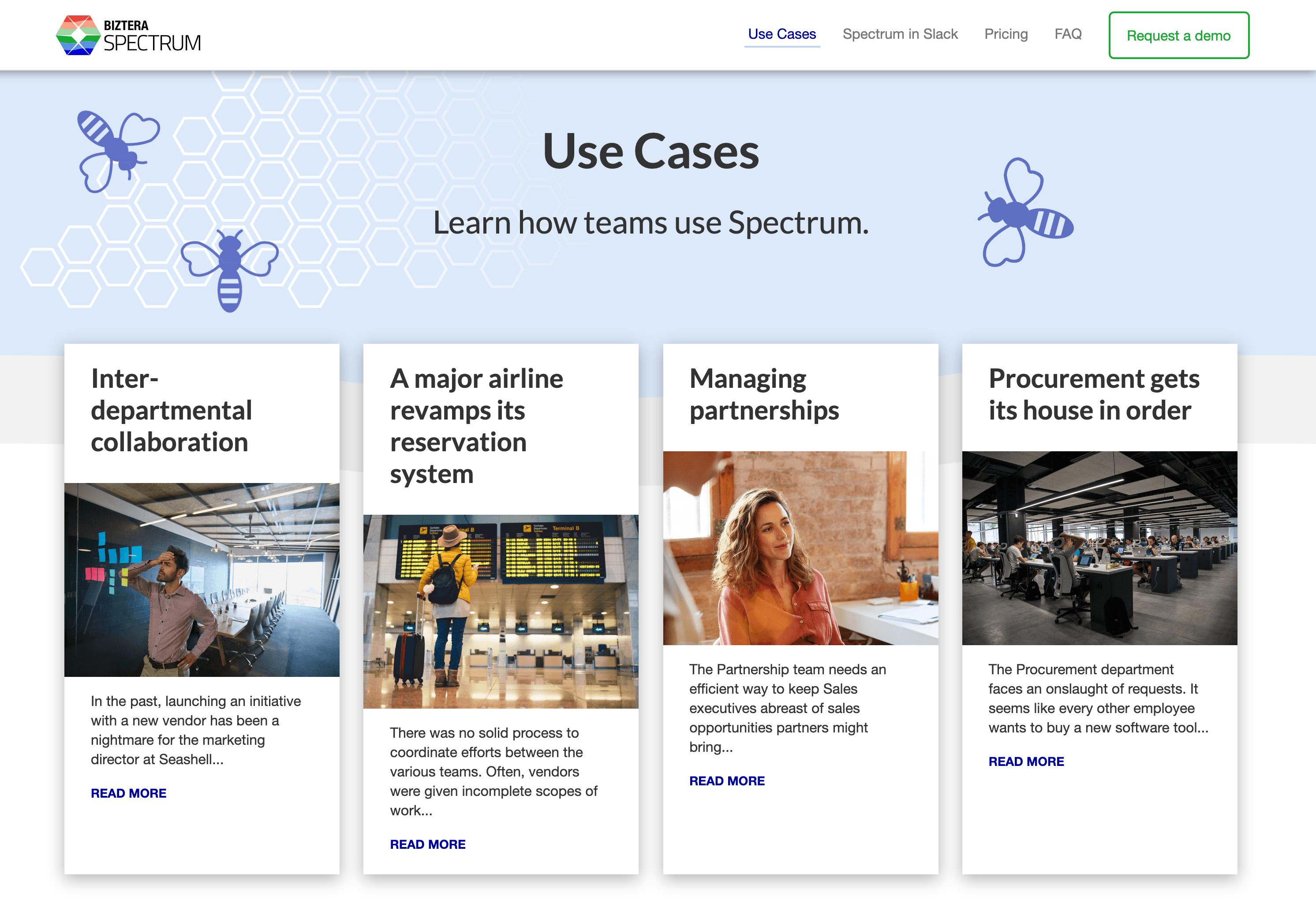 Spectrum Use Cases
