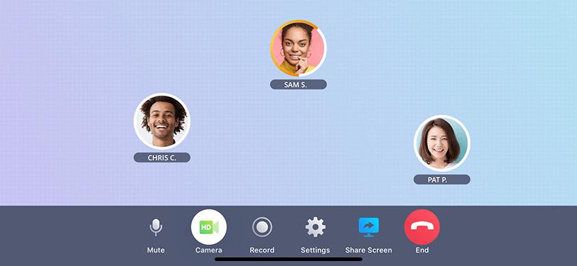 Voxeet Mobile App