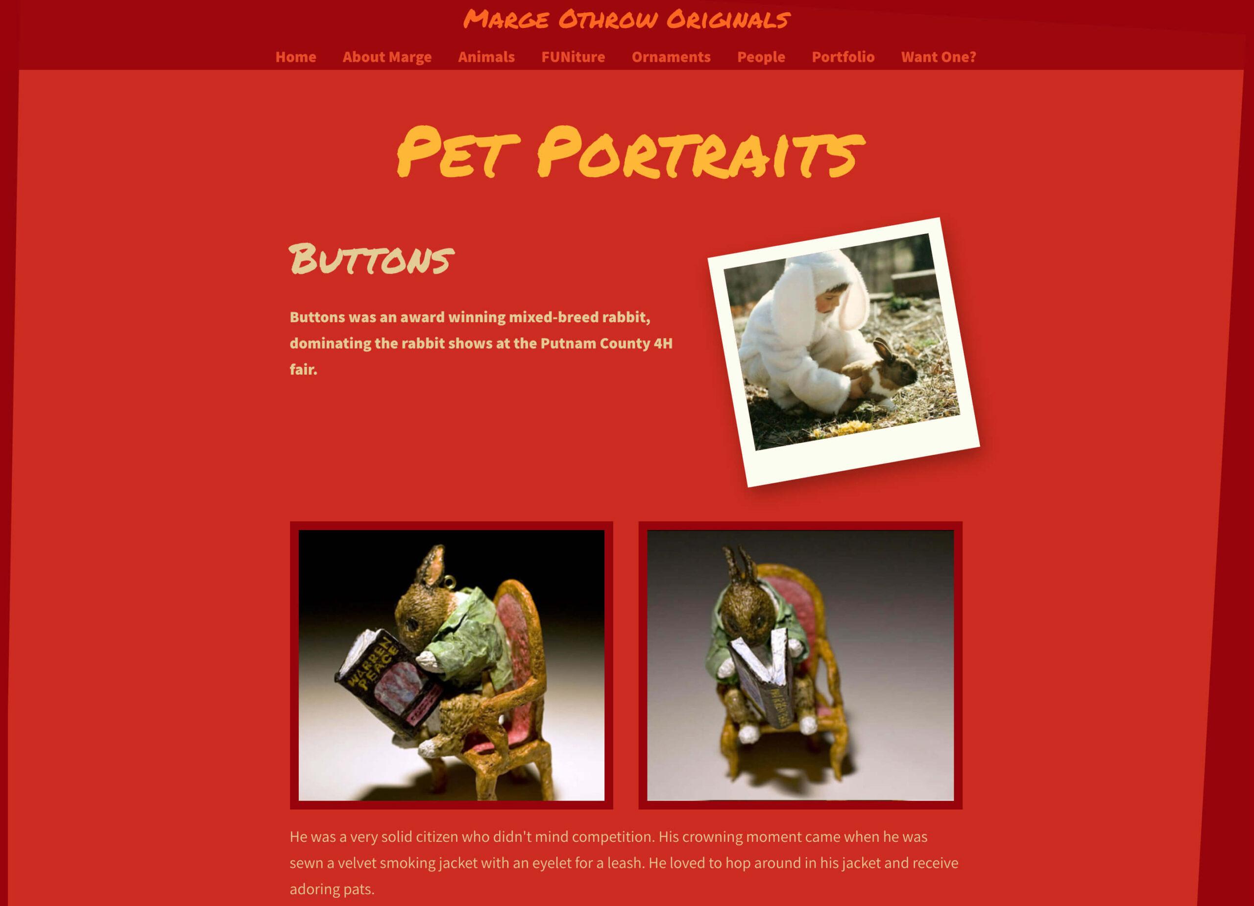 Marge Othrow - Pet Portraits